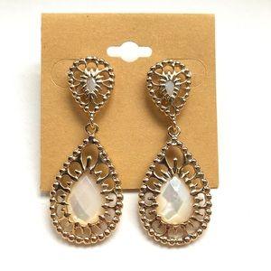 {Kendra Scott} Mother of Pearl Simms Earrings